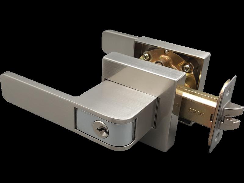 push-pull tubular lever lock